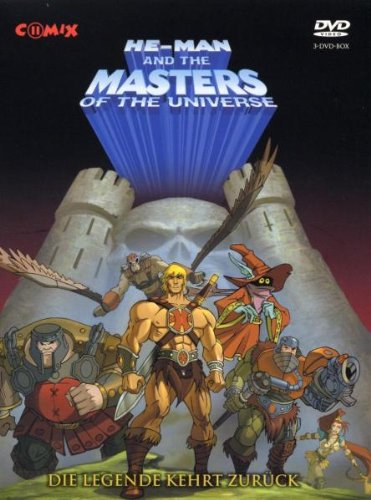He-Man and the Masters of the Universe, Vol. 1-3 (3 DVDs)