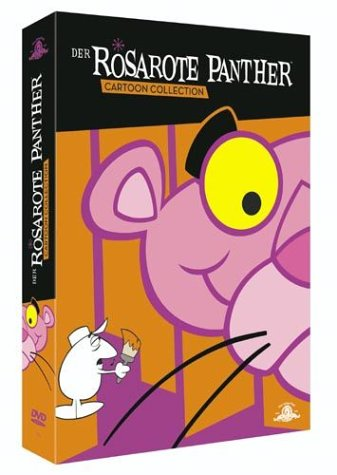 Der rosarote Panther Cartoon Collection (4 DVDs)