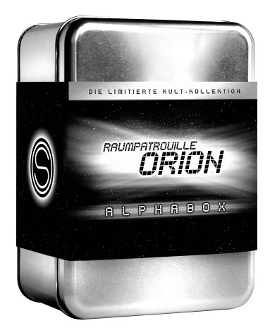 Raumpatrouille Orion - Alphabox (3 DVDs, Soundtrack-CD u.a.)