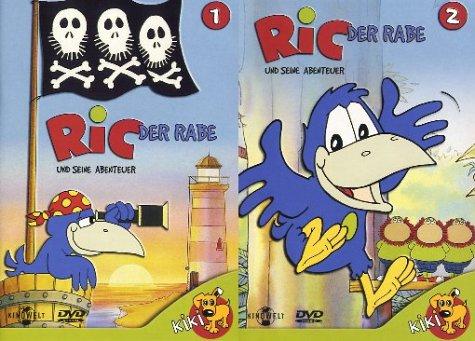 Ric der Rabe und seine Abenteuer 1+2 (2 DVDs)