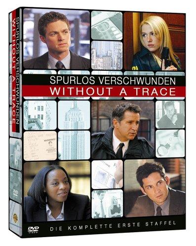 Without a Trace - Spurlos verschwunden: Staffel 1 (4 DVDs)