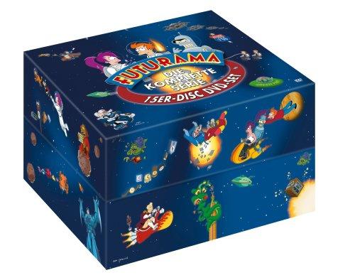 Futurama Monsterbox (Season 1-4, exklusiv bei Amazon)