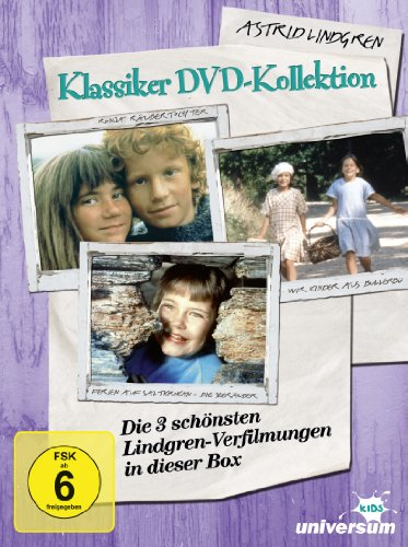 Astrid Lindgren Klassiker DVD-Kollektion (inkl. 'Die Seeräuber')