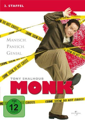 Monk Staffel 2 (4 DVDs)