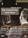Günter Gaus - Die klassischen Interviews: Politik & Kultur 1963 - 1969 (3 DVDs)