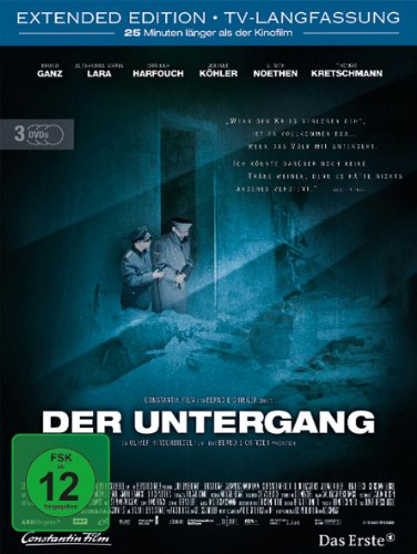 Der Untergang Premium Edition, Extended Version, 3 DVDs