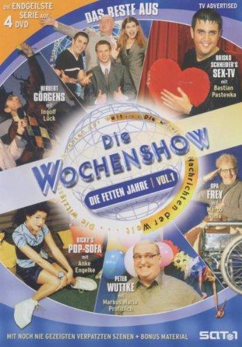 Das Beste aus 'Die Wochenshow': Die fetten Jahre Vol. 2 (4 DVDs)