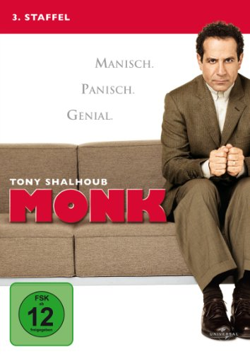 Monk Staffel 3 (4 DVDs)