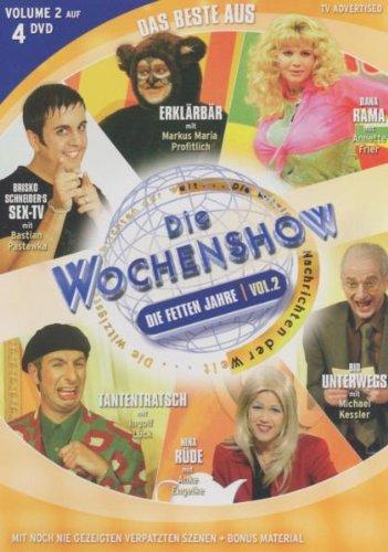 Das Beste aus 'Die Wochenshow': Die fetten Jahre Vol. 1 (4 DVDs)