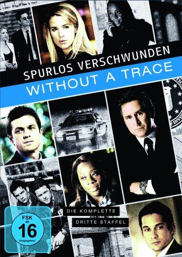 Without a Trace - Spurlos verschwunden: Staffel 3 (4 DVDs)