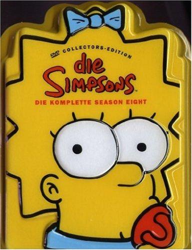 Die Simpsons Season  8 (Kopf-Tiefzieh-Box, Collector's Edition, 4 DVDs)