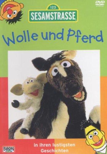 Sesamstraße Wolle und Pferd