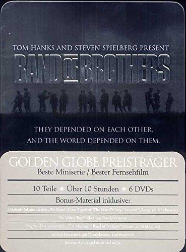 Band of Brothers - Wir waren wie Brüder: Die komplette Serie, FSK 18 (6 DVDs)