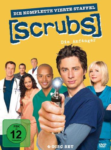 Scrubs: Die Anfänger Die komplette Staffel 4 (4 DVDs)