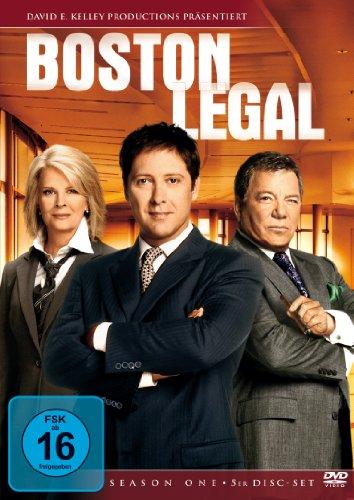 Boston Legal Staffel 1 (6 DVDs)