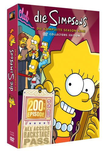 Die Simpsons Season  9 (Collector's Edition, 4 DVDs)