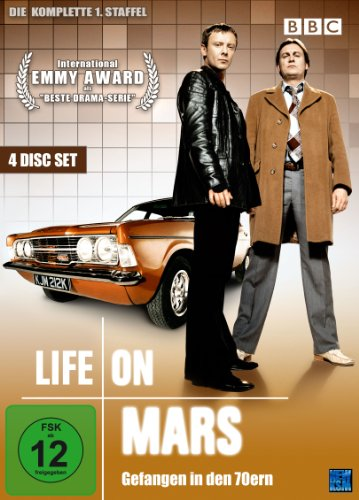 Life On Mars - Gefangen in den 70ern Season 1 (4 DVDs)