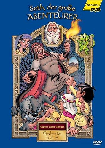Gottes Zehn Gebote: Gebote 5 & 6: Seth, der große Abenteurer.