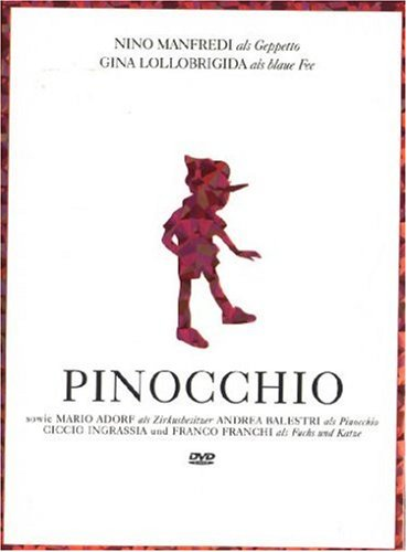 Pinocchio 3 DVDs