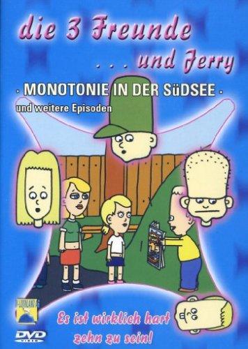 Die 3 Freunde und Jerry - Monotonie in der Südsee