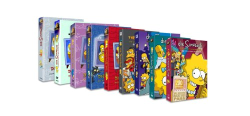 Die Simpsons Monsterbox (Season 1-9)