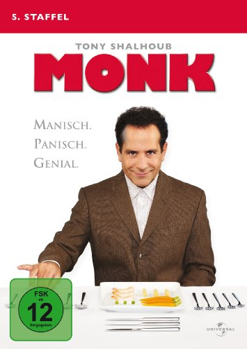 Monk Staffel 5 (4 DVDs)
