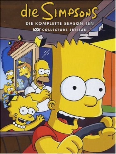 Die Simpsons Season 10 (Collector's Edition, 4 DVDs)