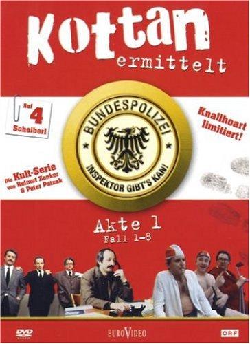 Kottan ermittelt Akte 1/Fall 01-08 (4 DVDs)