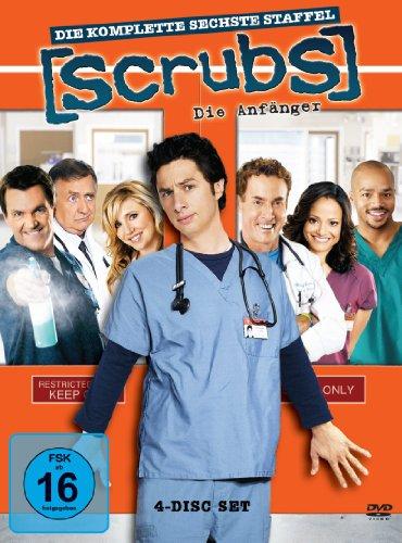 Scrubs: Die Anfänger Die komplette Staffel 6 (4 DVDs)
