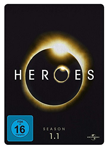 Heroes Staffel 1.1 (4 DVDs, Steelbook)