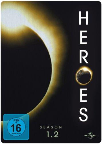 Heroes Staffel 1.2 (3 DVDs, Steelbook)