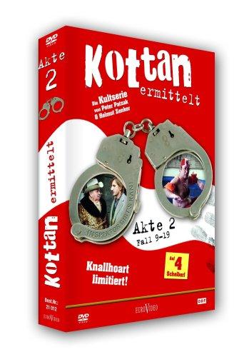 Kottan ermittelt Akte 2/Fall 09-19 (4 DVDs)