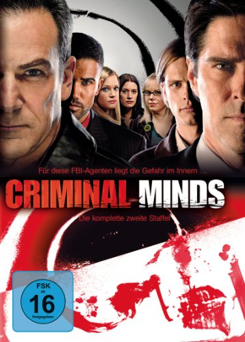 Criminal Minds Staffel  2 (6 DVDs)