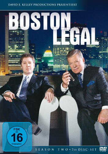 Boston Legal Staffel 2 (7 DVDs)
