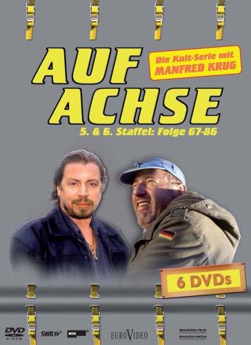 Auf Achse Staffel 5 & 6 (Folge 67-86, 6 DVDs)