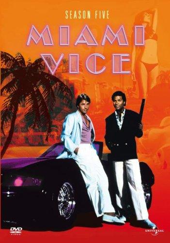 Miami Vice Season 5 (6 DVDs)