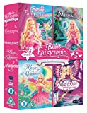 Barbie Fairytopia Movie Collection - Fairytopia/Mermaidia/Magic Of The Rainbow/Mariposa And Her Butterfly Fairy Friends (4 DVDs