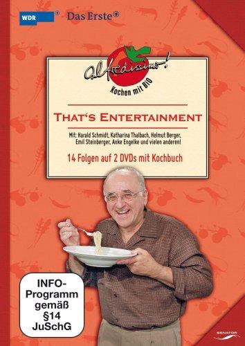 Alfredissimo! Kochen mit Bio: That's Entertainment (14 Folgen auf 2 DVDs mit Kochbuch)