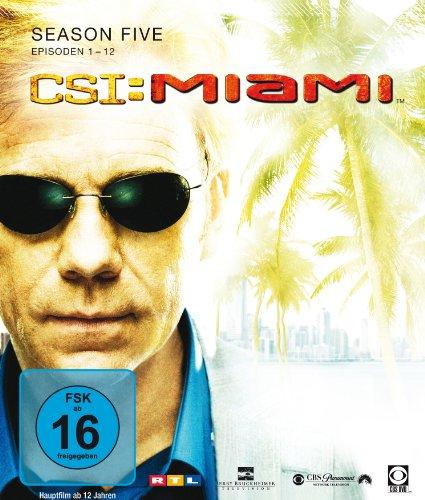CSI: Miami Season  5.1 [Blu-ray]