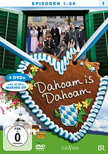 Dahoam is Dahoam Staffel 1, Episoden 01-24 (4 DVDs)