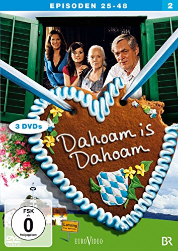 Dahoam is Dahoam Staffel 2, Episoden 25-48 (3 DVDs)