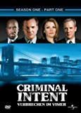 Criminal Intent - Verbrechen im Visier, Staffel 1/Teil 1 (3 DVDs)