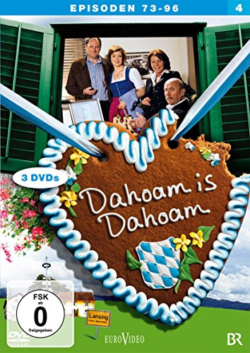 Dahoam is Dahoam Staffel 4, Episoden 73-96 (3 DVDs)