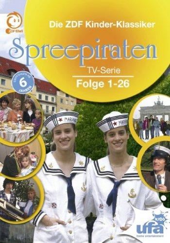Spreepiraten Die komplette Serie (4 DVDs)