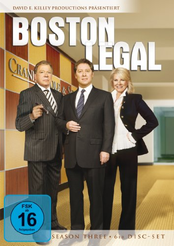 Boston Legal Staffel 3 (6 DVDs)