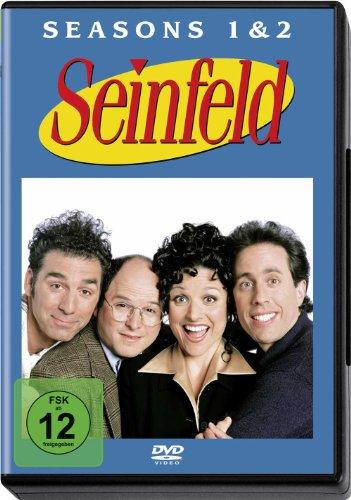 Seinfeld Season 1 + 2 (4 DVDs)