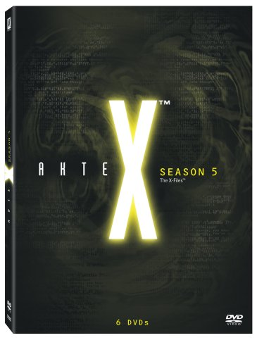 Akte X Season 5 Collection (6 DVDs)