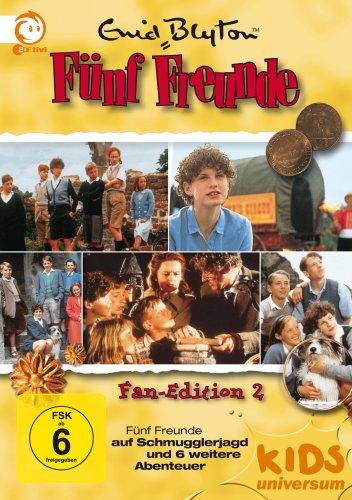 Fünf Freunde Box 2 (5 DVDs)