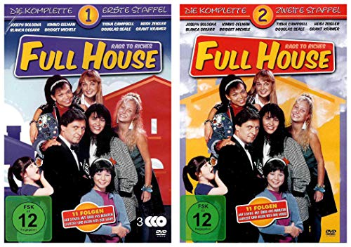 Full House: Rags to Riches Staffel 1+2 (6 DVDs)