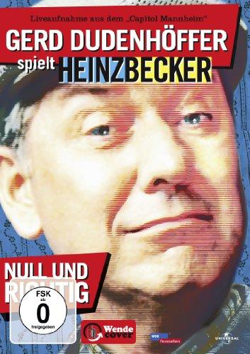 Gerd Dudenhöfer spielt Heinz Becker: Null und richtig!